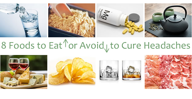 8 Foods to Eat (or Avoid) to Cure Headaches