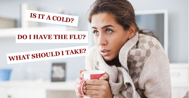 I Have the Flu or Flu-Like Symptoms. What Should I Take?