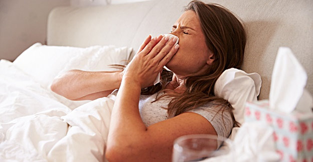 Getting the Flu Boosts Risk of Heart Attack