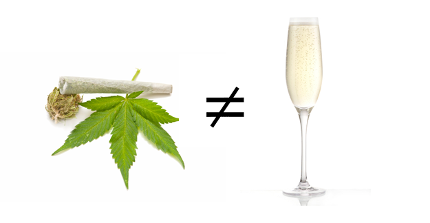 Weed is not like Wine